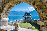 St. George island off Perast, Montenegro