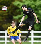 Paddy Cahill of Kilkenny makes a clearance against Clare during their Oscar Traynor semi-final at Frank Healy Park, Doora. Photograph by John Kelly.