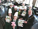 Mayor Frank Maher with the chefs at the Launch of The Fatima Girls NS Cookery Book in the Eastern Seaboard Restaurant. ..Photo NEWSFILE/Jenny Matthews.(Photo credit should read Jenny Matthews/NEWSFILE)....This Picture has been sent you under the condtions enclosed by:.Newsfile Ltd..The Studio,.Millmount Abbey,.Drogheda,.Co Meath..Ireland..Tel: +353(0)41-9871240.Fax: +353(0)41-9871260.GSM: +353(0)86-2500958.email: pictures@newsfile.ie.www.newsfile.ie.FTP: 193.120.102.198.
