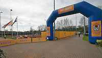 Rotterdam, The Netherlands, 15.03.2014. NOJK 14 and 18 years ,National Indoor Juniors Championships of 2014, entrance<br /> Photo:Tennisimages/Henk Koster
