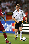 08 July 2006: Marcell Jansen (GER). Germany defeated Portugal 3-1 at the Gottlieb-Daimler Stadion in Stuttgart, Germany in match 63, the third-place game, of the 2006 FIFA World Cup.