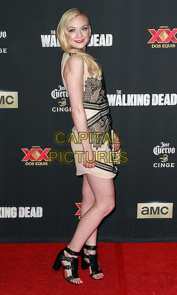 2 October 2014 - Universal City, California - Emily Kinney attends AMC celebrates the season five premiere of its hit series, &ldquo;The Walking Dead,&rdquo;  at the  AMC Universal Citywalk Stadium 19/IMAX.  <br /> CAP/ADM/TBO<br /> &copy;Theresa Bouche/AdMedia/Capital Pictures