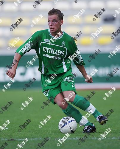 2007-08-11 / Voetbal / Dessel Sport / Stef Verwimp