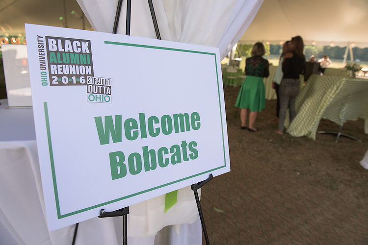 The 2016 Black Alumni Reunion welcome reception was held at Tailgreat Park on Thursday, September 15, 2016.