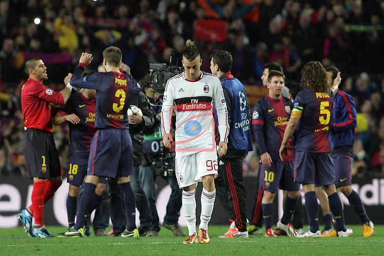 FC Barcelona vs Milan: 4-0 - Champions League 2012/13 - 1/8 2nd leg.