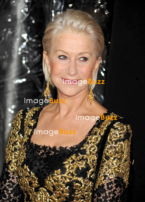 """Helen Mirren at the premiere of """"Hitchcock"""" in New York City..New York, November 18, 2012."""