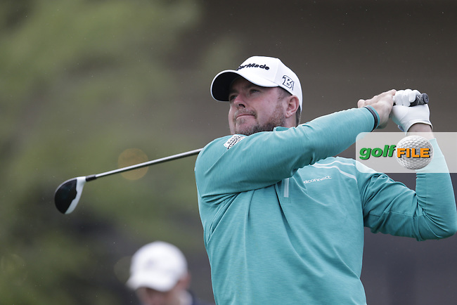 Robert Garrigus (USA) tees off the 1st tee during Thursday's Round 1 of the 2017 CareerBuilder Challenge held at PGA West, La Quinta, Palm Springs, California, USA.<br /> 19th January 2017.<br /> Picture: Eoin Clarke | Golffile<br /> <br /> <br /> All photos usage must carry mandatory copyright credit (&copy; Golffile | Eoin Clarke)