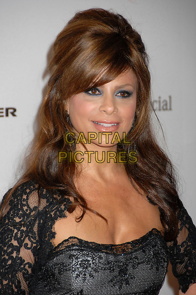 PAULA ABDUL.10th Annual Lili Claire Foundation Benefit, Century City, LA, California, USA, 13th October 2007..portrait headshot black lace.CAP/ADM/BP.www.capitalpictures.com