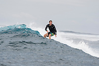 Namotu Island Resort, Nadi, Fiji (Tuesday, November 14 2017): The surf had dropped a little this morning to around 4'-6'  with bigger sets at Cloudbreak and Wilkes. There was  a high cloud cover most of day with very light variable winds. The Kalama Kampers enjoyed SUP sessions at Lefts, Canoes  and Swimming Pools during the morning. All the  breaks were close to as good as it gets in the excellent conditions. Photo: joliphotos.com
