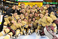 NCAA Hockey 2013: Beanpot Championship Boston College vs Northeastern FEB 11