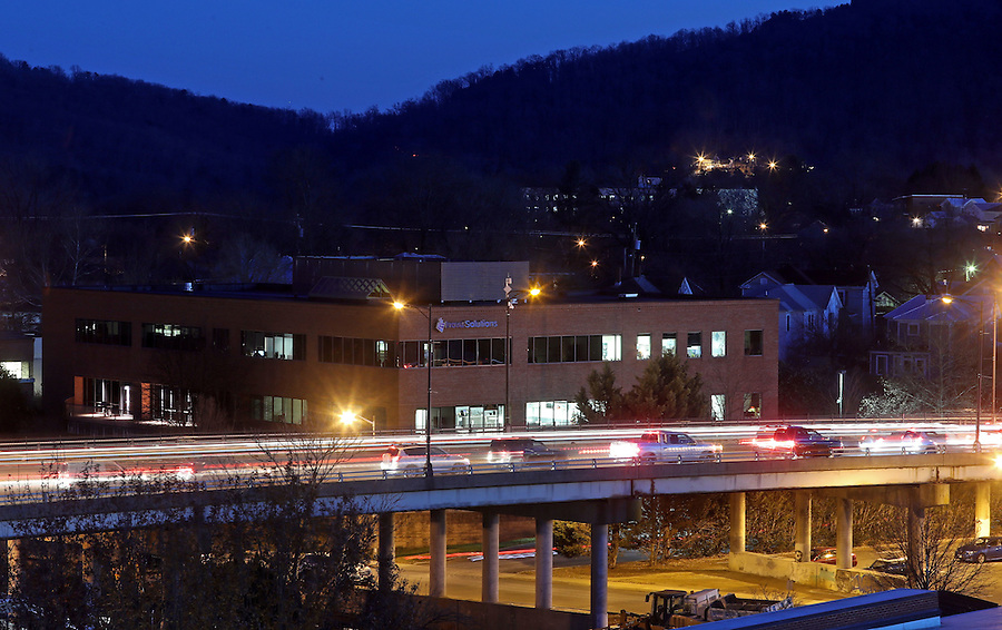 The Belmont Bridge in Charlottesville, Va. Photo/Andrew Shurtleff