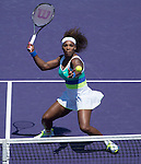Serena Williams (USA) Defeats Maria Sharapova in the final, 4-6, 6-3, 6-0