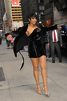 www.acepixs.com<br />  April 17, 2017 New York City<br /> <br /> Jennifer Hudson arriving to tape an appearance on 'The Late Show with Stephen Colbert' on April 17, 2017 in New York City.<br /> <br /> Credit: Kristin Callahan/ACE Pictures<br /> <br /> Tel: (646) 769 0430<br /> e-mail: info@acepixs.com