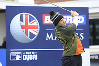 Oliver Fisher (ENG) during the Hero Pro-am at the Betfred British Masters, Hillside Golf Club, Lancashire, England. 08/05/2019.<br /> Picture Fran Caffrey / Golffile.ie<br /> <br /> All photo usage must carry mandatory copyright credit (© Golffile | Fran Caffrey)