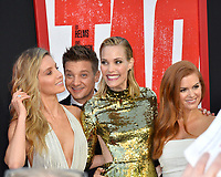 Annabelle Wallis, Jeremy Renner, Leslie Bibb &amp; Isla Fisher at the world premiere for &quot;TAG&quot; at the Regency Village Theatre, Los Angeles, USA 07 June  2018<br /> Picture: Paul Smith/Featureflash/SilverHub 0208 004 5359 sales@silverhubmedia.com