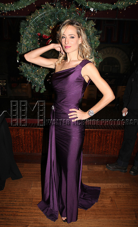 Jessica Polsky .attending the Opening Night After Party for the Off-Broadway production of 'Dracula' at Sardis' in New York City.