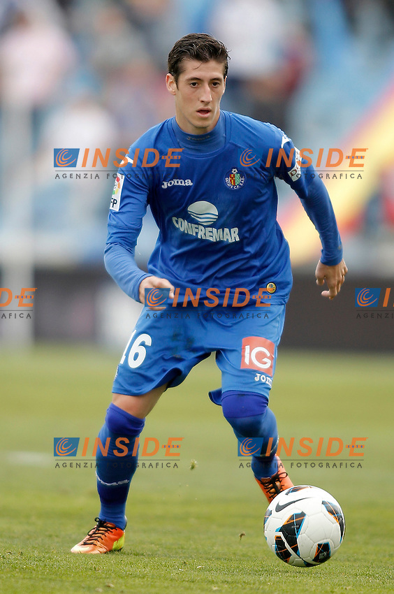 Getafe's Sergio Escudero during La Liga match. February 16, 2013. (ALTERPHOTOS/Alvaro Hernandez) .Football Calcio 2012/2013.La Liga Spagna.Foto Alterphotos / Insidefoto .ITALY ONLY