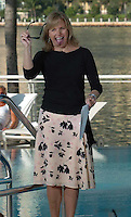 """SMG_Katie Couric_Leaving CBS News_040311_01.JPG<br /> <br /> Orig pix taken 2/2004 in Miami <br /> <br /> KEY BISCAYNE, FL - APRIL 03:  (TMZ)  Katie Couric, the first woman ever to anchor a network news broadcast by herself, will be leaving her post at """"CBS Evening News"""" after less than five years on the job, this according to reports.  Speculation has been going on for some time that Couric would bolt, and now a network exec tells the AP that is the case, though no official date has been set. Her contract is up June 4.  It's expected Couric will move on to host her own syndicated show. .  on April 3, 2011 in Key Biscayne, Florida.  (Photo By Storms Media Group)<br />  <br /> People:   Katie Couric<br /> <br /> Must call if interested<br /> Michael Storms<br /> Storms Media Group Inc.<br /> 305-632-3400 - Cell<br /> 305-513-5783 - Fax<br /> MikeStorm@aol.com"""