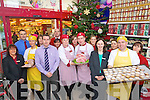 Staff at Garveys Supervalu Castleisland