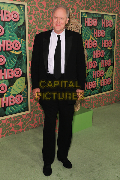 JOHN LITHGOW.HBO Post Emmy Reception at the Pacific Design Center. West Hollywood, CA, USA. .August 29, 2010.full length suit tie shirt black white .CAP/CEL .©CelPh/Capital Pictures