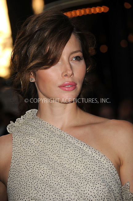 WWW.ACEPIXS.COM . . . . .  ....May 11 2009, New York City....Actress Jessica Biel arriving at a screening of 'Easy Virtue' hosted by The Cinema Society and The Wall Street Journal with Jaeger-Lecoultre and Brooks Brothers at the AMC Loews 19th Street on May 11, 2009 in New York City.....Please byline: KRISTIN CALLAHAN - ACEPIXS.COM.... *** ***..Ace Pictures, Inc:  ..tel: (212) 243 8787..e-mail: info@acepixs.com..web: http://www.acepixs.com