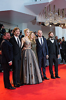 Michelle Pfeiffer, Jennifer Lawrence, Javier Bardem, Darren Aronofsky at the &quot;Mother!&quot; premiere, 74th Venice Film Festival in Italy on 5 September 2017.<br /> <br /> Photo: Kristina Afanasyeva/Featureflash/SilverHub<br /> 0208 004 5359<br /> sales@silverhubmedia.com
