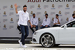 KC Rivers during the Audi Car delivery, at the basketball players of the Real Madrid. May 25,2016. (ALTERPHOTOS/Rodrigo Jimenez)