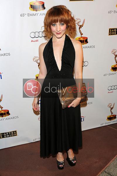 Megan Duffy<br /> at the 65th Emmy Awards Nominee Celebration, Leonard H. Goldenson Theater, North Hollywood, CA 09-17-13<br /> David Edwards/Dailyceleb.com 818-249-4998