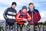 Mark Reilly, Eoin O'Hanlon, and Sean Parnell enjoying the Fenit Coastal Cycle in aid of St. Brendan's NS on Saturday