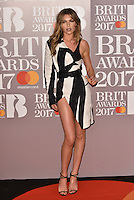 Abbey Clancy<br /> The Brit Awards at the o2 Arena, Greenwich, London, England on February 22, 2017.<br /> CAP/PL<br /> &copy;Phil Loftus/Capital Pictures /MediaPunch ***NORTH AND SOUTH AMERICAS ONLY***