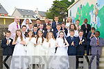 Mr Denis Griffin class from Moyderwell Primary with is pupils after their Holy Communion on Saturday in St John's Church, Tralee. Sarah Daly, Millie Moore-Brew,Kate Lacey, Ciara Moloney, Julie Lehane, Erica Pilch, Claudia O'Rahilly, Clodagh Toge, Sean Stack Pullen, Conor Hayes, Darragh Masterson, Pa?draig McCannon, Daniel Folk-Seang, Peter Williams, Nathan Comerford, Gavin Mulvihill, Tyreese Flaherty, Michael O'Sullivan, David O'Connor-Fitzgibbon, Eric Pula, Byorn Destyree,Junior Ankomah, Cillian Griffin, Padraig White and Gerard Ryle, missing were, Barbara O'Brien, Anna O'Brien and Savanah Quilligan................................... ....