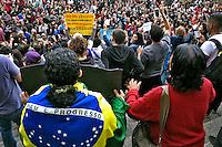 Manifestaçao Fora Temer na Praça da Se, 07.09.2016. Foto de Marcia Minillo.