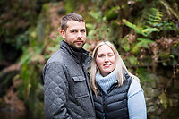 "COPY BY TOM BEDFORD<br /> Pictured: Bride to be Megan Stamp with her fiancee Callum Rodgers.<br /> Re: A bride cried tears of joy after her missing wedding dress was found among a pile of 20,000 gowns in a warehouse.<br /> Meg Stamp, 27, paid £1,300 for the beautiful ivory lace dress but it  was seized by liquidators after a bridal company went bust.<br /> It was boxed up along with 20,000 others and due to be sold for a knock-down price at auction.<br /> But determined Meg banged on the auctioneer door saying: ""I want my dress back"".<br /> Staff at John Pye auctioneers in Port Talbot spent three hours sifting through boxes until they finally found Meg's dream dress."