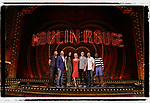 "Tam Mutu, Danny Burstein, Karen Olivo, Robyn Hurder, Aaron Tveit, Ricky Rojas, and Sahr Ngaujah  from ""Moulin Rouge!"" The Broadway Musical at the Al Hirschfeld Theatre on July 9, 2019 in New York City."