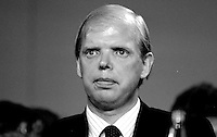 Earl of Caithness, Conservative Party, junior minister at the Home Office, UK, 19871034EC..Copyright Image from Victor Patterson, 54 Dorchester Park, Belfast, UK, BT9 6RJ..Tel: +44 28 9066 1296.Mob: +44 7802 353836.Voicemail +44 20 8816 7153.Skype: victorpattersonbelfast.Email: victorpatterson@me.com.Email: victorpatterson@ireland.com (back-up)..IMPORTANT: If you wish to use this image or any other of my images please go to www.victorpatterson.com and click on the Terms & Conditions. Then contact me by email or phone with the reference number(s) of the image(s) concerned.