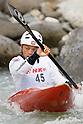 Kazuki Yazawa (JPN), APRIL 15, 2012 - Canoeing : 2012 Canoeing NHK Cup Slalom Competitions, Men's Kayak Single race  final at Ida River, Toyama, Japan. (Photo by Yusuke Nakanishi/AFLO SPORT) [1090]