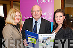 TRAINING: Noreen Fitzpatrick (Accel), John Pierce (CEO of South Kerry Development Partnership) and Caragh Curran (Failte Ireland South West) at the launch of the South Kerry Networks Project in Caherciveen on Friday last.