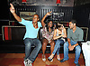 One Life to Live group shot, Max Tapper, Shenell Edmonds, Kelley Missal and Barret Helms attending the Shenell Edmonds Fan Club Dance Party on .August 14, 2011 at HB Burger's Sunken Bar in New York City. Shenell plays Destiny Evans on One Life to Live.
