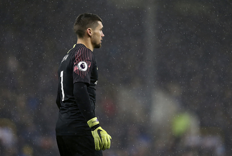 Brighton & Hove Albion's Matthew Ryan<br /> <br /> Photographer Rich Linley/CameraSport<br /> <br /> The Premier League - Burnley v Brighton and Hove Albion - Saturday 8th December 2018 - Turf Moor - Burnley<br /> <br /> World Copyright © 2018 CameraSport. All rights reserved. 43 Linden Ave. Countesthorpe. Leicester. England. LE8 5PG - Tel: +44 (0) 116 277 4147 - admin@camerasport.com - www.camerasport.com