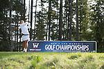 April 14, 2014; Bremerton, WA, USA; Pepperdine Waves golfer Marissa Chow during the WCC Golf Championships at Gold Mountain Golf Club.