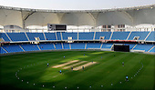 Scotland V Ireland World T20 qualifying cricket match in magnificent Dubai Sports City Cricket Stadium - Ireland won the match so go through to the group stages, while Scotland go home - - Picture by Donald MacLeod 11.02.10