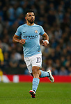 Sergio Aguero of Manchester City during the Champions League Group F match at the Emirates Stadium, Manchester. Picture date: September 26th 2017. Picture credit should read: Andrew Yates/Sportimage