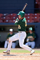 March 14, 2010:  Catcher Justin Kline (25) of North Dakota State University Bison vs. Akron University at Chain of Lakes Park in Winter Haven, FL.  Photo By Mike Janes/Four Seam Images