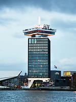 Nederland Amsterdam 2017. De A'DAM Toren in Amsterdam Noord. Foto Berlinda van Dam / Hollandse Hoogte