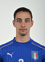 FLORENCE, ITALY - JUNE 01:  Mattia De Sciglio of Italy poses for a photo ahead of the UEFA Euro 2016 at Coverciano on June 1, 2016 in Florence, Italy.  Foto Claudio Villa/FIGC Press Office/Insidefoto