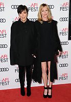 12 November  2017 - Hollywood, California - Kris Jenner, Melanie Griffith. AFI FEST 2017 Screening Of &quot;The Disaster Artist&quot; held at The Beverly Hilton Hotel in Hollywood. <br /> CAP/ADM/BT<br /> &copy;BT/ADM/Capital Pictures