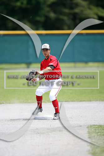 Rolando Gomez during the Cape Cod High School Classic presented by Under Armour at Spillane Field on July 27th 2007 in Wareham, Massachusetts.  (Copyright Mike Janes Photography)