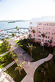 BERMUDA. The docks at the Hamilton Princess & Beach Club Hotel.