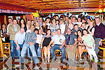 Tim O'Connor Castleisland seated centre who celebrated his 40th birthday with his family and friends in Cons bar Castleisland on Saturday night....