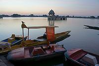 Gadi Sagar  lake in Jaislamer ,Rajastan, India
